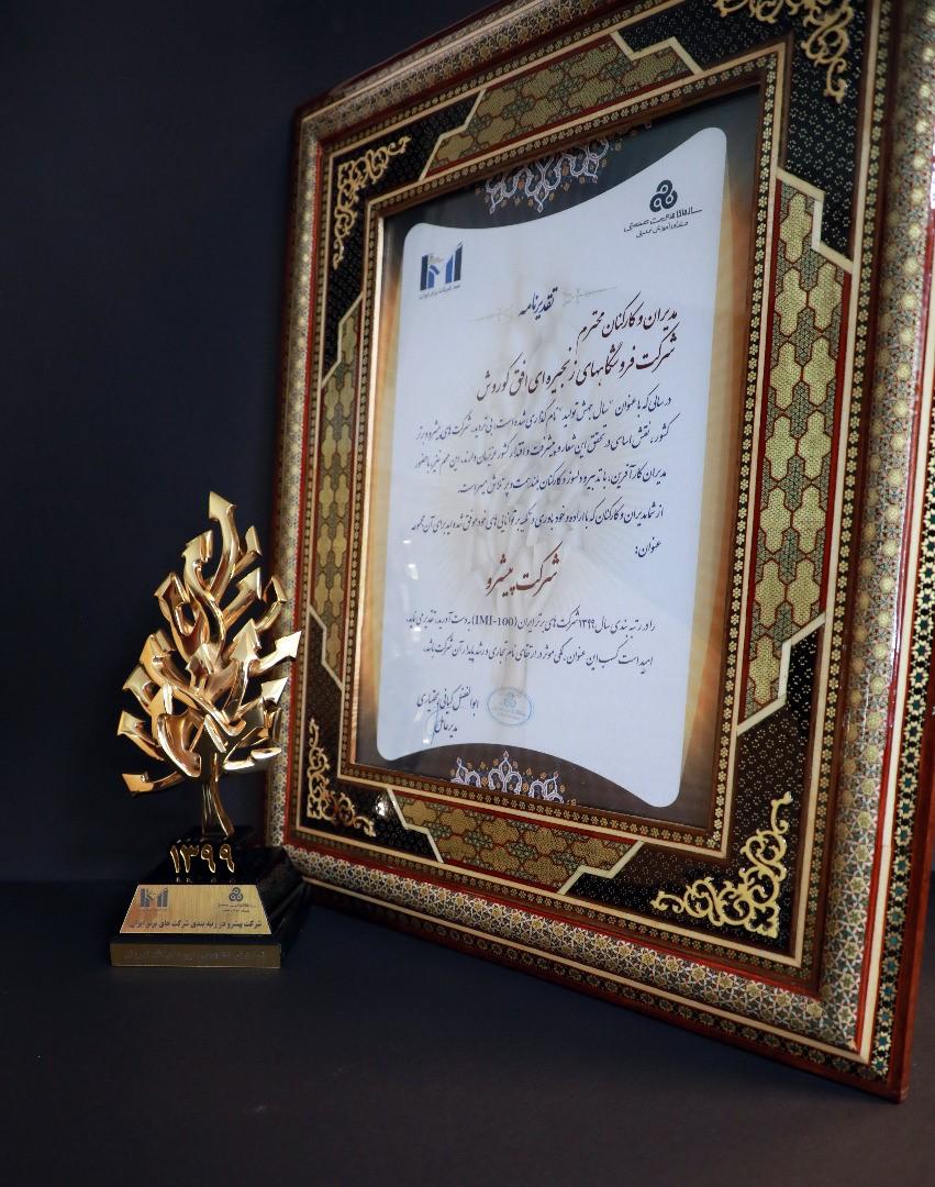 افق کوروش؛ سی و پنجمین شرکت برتر ایران؛
