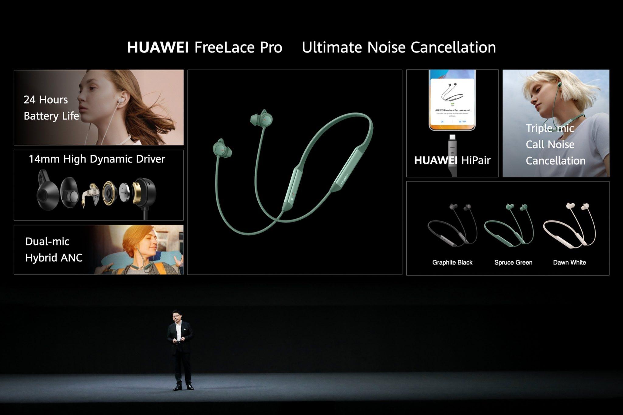 معرفی شش محصول جدید هوآوی در رویداد HDC 2020؛ از لپتاپ تا ساعت هوشمند و هندزفری
