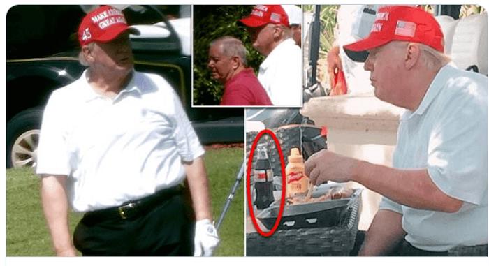 گاف ترامپ با انتشار یک عکس