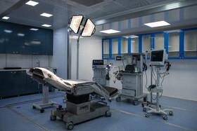 بخش جراحی در بزرگترین بیمارستان سیار کشور