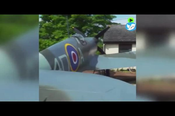 ساخت باورنکردنی مشهورترین جنگنده جنگ جهانی در حیاط خانه