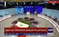 نماینده محسن رضایی در تلویزیون علامت پیروزی نشان داد