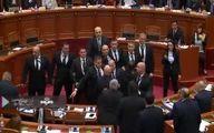 ببینید : پرتاب تخم مرغ به نخستوزیر آلبانی