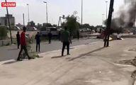اولین فیلم از انفجار تروریستی در بغداد + جزئیات