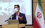 تپق جنجالی آذری جهرمی در خواندن شعر عربی! + فیلم