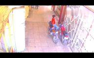 دزدی اسف بار یک موتورسیکلت توسط پسربچه
