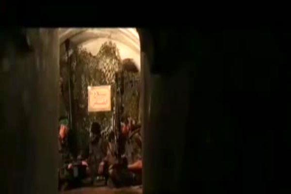 تصاویر دیده نشده از تونلهای زیرزمینی گردانهای عزالدین القسام