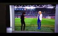 خلاقیت شگفت انگیز در یک برنامه ورزشی|فیلم