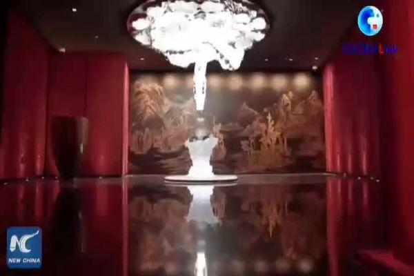 درب های بلندترین هتل دنیا باز شد