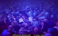 شوخی حسن ریوندی با دختران در حضور بازیگران + فیلم