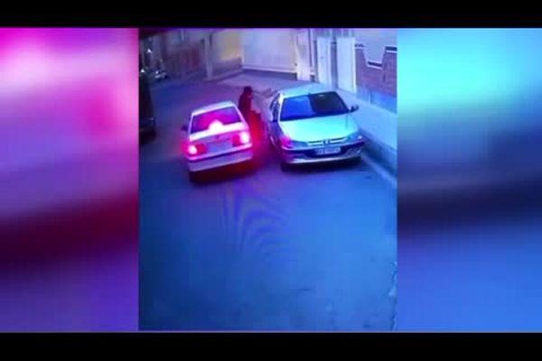 سرقت پرشیا در چند ثانیه و سکوت عجیب فیلمبردار