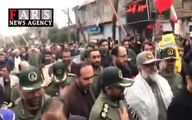 ببینید: نمایی از سیل خروشان مردم گرگان در راهپیمایی ۲۲ بهمن