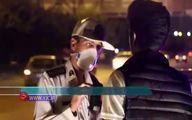 مسابقات شبانه خیابانی در اتوبانهای تهران +فیلم