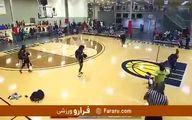 فیلم کتک زدن داور در بسکتبال دختران