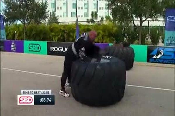 فیلم:شکست قویترین مرد جهان مقابل غول 24 ساله اوکراینی