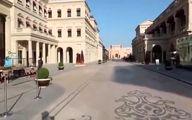 خیابانی در قطر که 20 درجه خنک تر از باقی خیابانهاست
