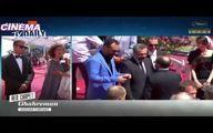 اولین ویدیو از اصغر فرهادی و امیر جدیدی روی فرش قرمز جشنواره کن