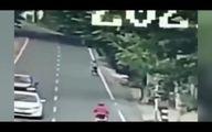 مرگ بد شانس ترین موتورسوار  دنیا به دست یک درخت