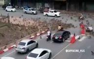 شهر در تصرف میمونهای گرسنه؛تصرف خیابانها