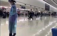طنز و حرکات خنده دار ایرانی در فرودگاه توکیو