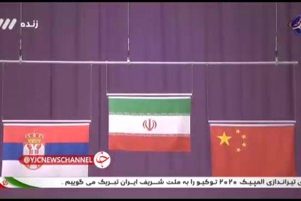 لحظه اهدای مدال طلای جواد فروغی در المپیک