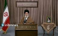 تبریک رهبر انقلاب به مناسبت عید مبعث+فیلم