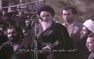 سخنان تاریخی امام خمینی در بدو ورود به ایران را ببینید