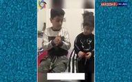 فرزندان فوتبالیستها هم وارد چالش شدند! + ویدئو